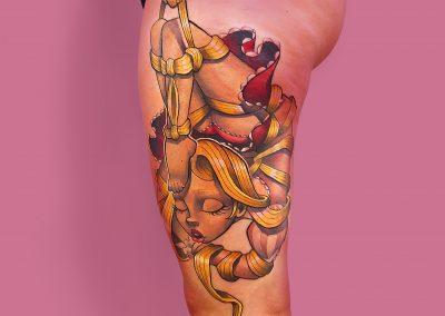 F022-artystik-tattoo-paris-raiponce - Kromatique Tattoo