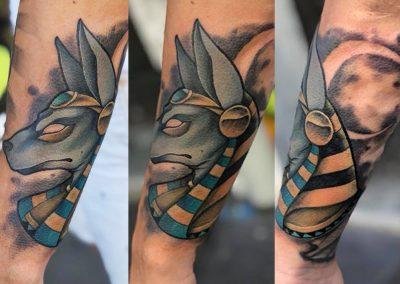 anubis - Calvanostra Tattoo