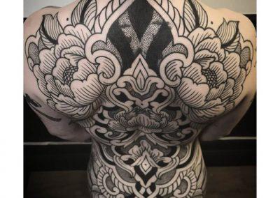 dos - ironink tattoo nantes