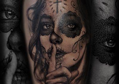 Catrina_ - Mikado tatouages