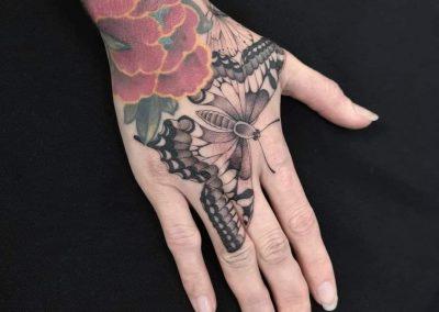 tattoo papillon - Letizia Lovichi