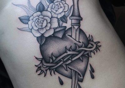 tattoo ventre - Letizia Lovichi