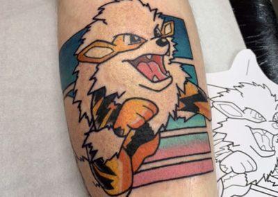 toshy Kun Tattoo 1